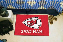 FANMATS 14321 NFL Kansas City Chiefs Nylon Universal Man Cav