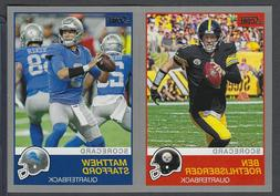 2019 Score Football Silver Scorecard Parallels COMPLETE YOUR