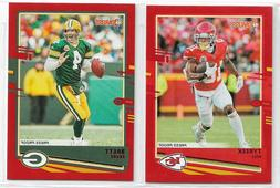 2020 Donruss Football PRESS PROOF RED Parallel - Complete Yo