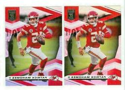 2020 Panini Elite Base #1 Patrick Mahomes II - Kansas City C