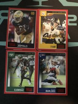 2020 Panini Score Football Red Parallel!!! Complete Your Set