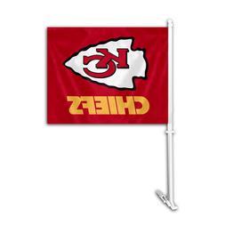 Auto Car Window Flag Logo License Products Sport - NFL Kansa