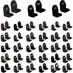 Brand New NFL Car Truck Universal Fit 2 Front Bucket Seat Co