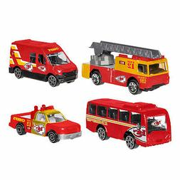 Forever Collectibles - 4 Pack Die Cast Cars, Kansas City Chi