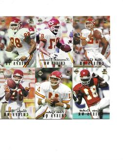 KANSAS CITY CHIEFS 1998 1ST PLACE EDGE THICK PARALLEL TEAM S
