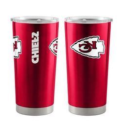 Kansas City Chiefs 20oz Ultra Travel Tumbler  NFL Cup Mug Co