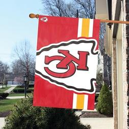 "Kansas City Chiefs 24"" x 36""  Bold Logo Banner Flag"