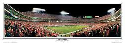Kansas City Chiefs ARROWHEAD STADIUM GAME NIGHT Panoramic Po