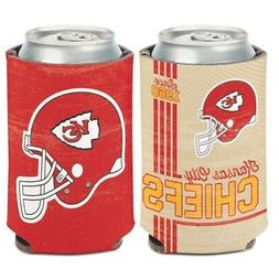 KANSAS CITY CHIEFS CLASSIC LOGO NEOPRENE CAN BOTTLE COOZIE C