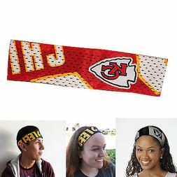 Kansas City Chiefs Elastic Headbands
