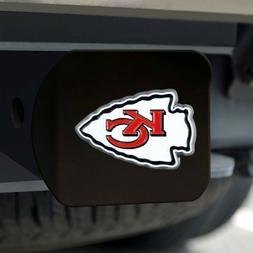 Kansas City Chiefs Heavy Duty 3-D Color Emblem Black Chrome