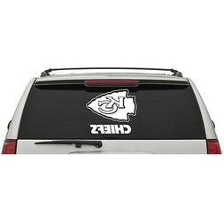 Kansas City Chiefs Logo Name Wordmark Window Wall Car Truck