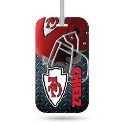 Kansas City Chiefs Luggage ID Tag  NFL Travel Bag Duffel Pla