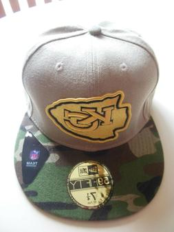 Kansas City Chiefs Mens New Era 59FIFTY Fitted Baseball Cap