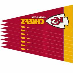Kansas City Chiefs Mini Pennants - 8 Piece Set