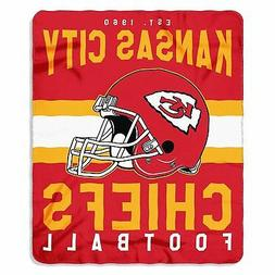 "Kansas City Chiefs NFL Northwest 50""x60"" Singular Soft Fleec"