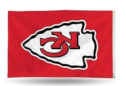 Kansas City Chiefs NFL Banner Flag 3' x 5'  ~ NEW