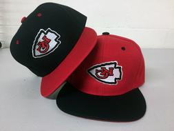 Kansas City Chiefs Snap Back Cap Hat Embroidered Adjustable