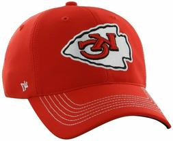 Kansas City Chiefs Stretch Fit One Size Red Baseball Hat Cap