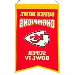 Kansas City Chiefs Super Bowl Champions Banner 1016