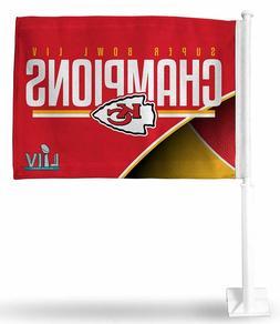 Kansas City Chiefs Super Bowl LIV 54 Champion 2-Sided Car Fl