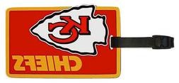Kansas City Chiefs - NFL Soft Luggage Bag Tag