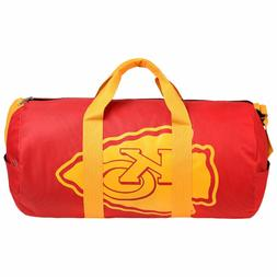 Kansas City Chiefs Vessel Barrel Duffle Bag Gym Swimming Car