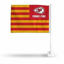 Kansas City NFL Chiefs Country 11x14 Window Mount 2-Sided Ca