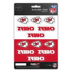 New NFL Kansas City Chiefs Die-Cut Premium Vinyl Mini Decal