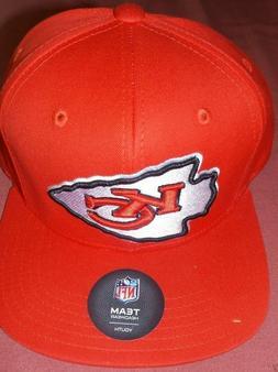 NFL Kansas City Chiefs Boys Baseball Hat Cap Child Youth Adj