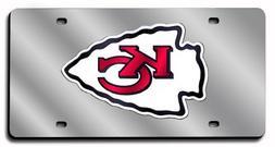 NLF Kansas City Chiefs Laser-Cut Auto Tag