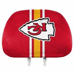 pair of kansas city chiefs head rest