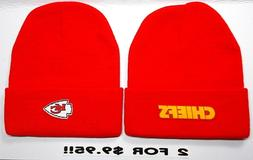 READ LISTING!Kansas City Chiefs HEAT APPLIED Flat Logos on 2