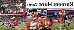 You Pick Your Card - Kareem Hunt - Kansas City Chiefs - Foot